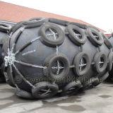 Función protectora que flota la nave de goma neumática y la defensa marina