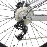 """Bici eléctrica dual 500W del marco 27.5 de la aleación de aluminio de la suspensión MTB de Jobo """" para los hombres con el motor del centro de Bafang"""