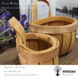 Hongdao modificó la cesta de mimbre de la comida campestre para requisitos particulares de la talla para la venta al por mayor de la venta - E