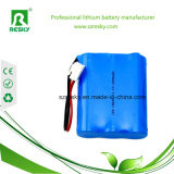 11.1V 6200mAh nachladbares Lithium-Batterie18650 Li-Ion