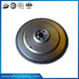 OEMの鋳鉄のフライホイールの鉄の鋳造プーリー車輪の鋳造物の車輪ベルトローププーリーはプーリーを動かす