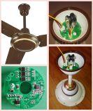 """56 """"太陽電池パネルおよび電池式12V DCの天井に付いている扇風機"""