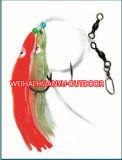 Le poulpe de qualité borde des attraits en plastique doux de pêche