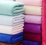 Хлопок полотенец пляжа 80%Polyester 20% для ванны пляжа моря