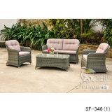 Insiemi esterni del sofà, mobilia del rattan del patio, insiemi del sofà del giardino (SF-346)