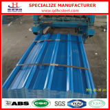 Farbe Coated Galvanized PPGI Corrugated Steel Sheet für Roof