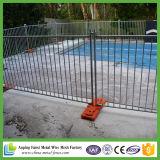 Алюминиевая панель 2.4m загородки бассеина - плоский верхний ограждать сада черноты 1200X2400