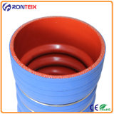 Alto Performace Straight Hump Silicone Hose con Steel Rings