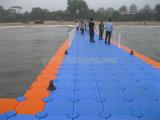 Piattaforma di plastica del pontone di sport di acqua