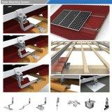 Распределенная система PV крыши крюка солнечная