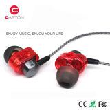 3.5mm fones de ouvido de bobina dupla para laptop e celular