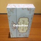 Коробка подарка упаковки бумаги свечки малого высокого качества пурпуровая