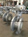 鋳造物鋼鉄Dn400 2.5MPa Bi方向シーリングButerfly弁
