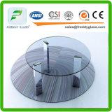 Polised 가장자리를 가진 3-25mm 강화 유리 단단하게 한 유리제 단련된 유리 또는 또는 문 유리