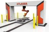2017金属の管のファイバーレーザーの打抜き機CNCの新しい状態のファイバーレーザーのカッター1000Wのウォータージェットの打抜き機の価格