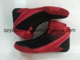 Гибкие облегченные китайские ботинки спортов Wrestling ботинки для людей