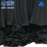 Alineada larga plisada tira Newstyle sin mangas negra de la manera atractiva floja