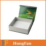 Rectángulo de empaquetado modificado para requisitos particulares de la cartulina de embalaje del regalo rígido del rectángulo de papel