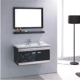 ミラーが付いている標準的な壁のステンレス鋼の浴室の虚栄心のキャビネット