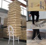 Cadeira preta de Chiavari Phoenix da infinidade da madeira e da resina