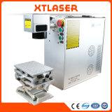 Cabina portable 20W 30W 50W del metal de la máquina de la marca del laser de la fibra