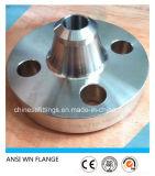 ASTM forjó el borde del acero inoxidable de Wnrf 316ti del cuello de la soldadura