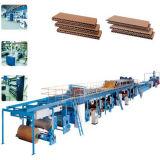 Einlagiger gewölbter Pappe-Produktionszweig
