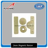 Botón magnético de los pantalones vaqueros de la alta calidad (YXMBJ-591806)