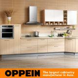 Oppeinの田舎中国PVC台所食器棚(OP14-048)