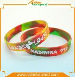 Wristband di vendita caldo del silicone per variopinto
