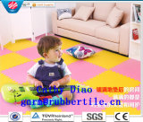 Le couvre-tapis en caoutchouc d'EVA folâtre le couvre-tapis d'enfants de couvre-tapis d'exercice de couvre-tapis
