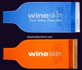 Arbeitsweg-einzelner Flasche Belüftung-Wein-Kühlvorrichtung-Beutel für Champagne-Halter