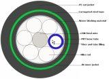 De directe Begraven Kabel van de Optische Vezel (GYTA53)