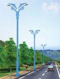 La mejor luz de calle solar del precio los 5m poste 24W LED