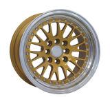 نوع ذهب أو فضة آلة شفة [بّس] سبيكة عجلة ([لو215])