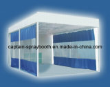 Industrielle Vorbereitungs-Stationen für den Spray-Stand