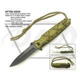 """4.5 """" закрыли нож ручки G10 замка вкладыша при помытый камень: 4PT116-45bl"""