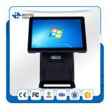 """15"""" del restaurante del LCD del sistema posición de la pantalla táctil todo en uno TPV HZQ-P1088"""