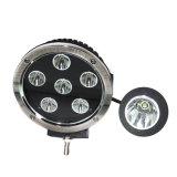 7inch 60W 크리 사람 LEDs 자동 작동 램프 LED 일 빛