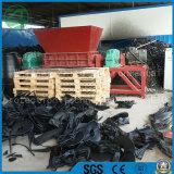 Double défibreur d'arbre pour déchets de rebut de plastique/du bois/en caoutchouc/solides/pneu/pneu/perte de rebut animale de corps/cuisine Recycling/PCB/Foam/Municipal
