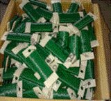 화초 재배자 철사를 위한 무거운 계기 단일 나선 PVC 입히는 철사