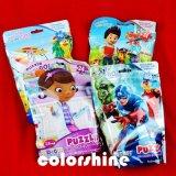 Conjunto del libro del rompecabezas del color de la impresión del cartón del niño