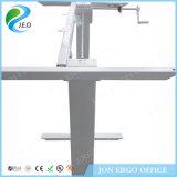 L'ordinateur réglable de hauteur manuelle reposent le bureau de stand (JN-SD320C)