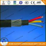 Tipo di cavo di controllo 600V dell'UL 1277 cavo di TC
