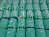 película verde fundida do envoltório da ensilagem de 500mm*1500m