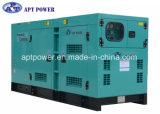 Wassergekühlter 3 Phasen-schalldichter Generator mit Cummins-Dieselmotor