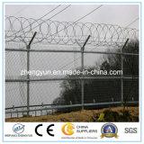 Cerca de la conexión de cadena del aeropuerto/valla de seguridad (certificación de la ISO)