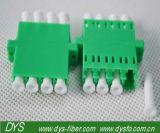 LC APC 싱글모드 4개의 코어 플라스틱 접합기에 LC APC를 가진 광섬유 접합기