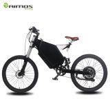 AMS-Tde-05 weißer Gebirgsschnelles elektrisches Fahrrad des Rahmen-2000W