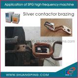 Hochfrequenzinduktions-Heizungs-Maschine 35kw 30-100kHz Spg50K-35b